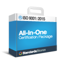 ISO 9001 All in One Certification Package sample