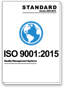 Graphic of the ISO 9001:2015 Quality Management System Standard